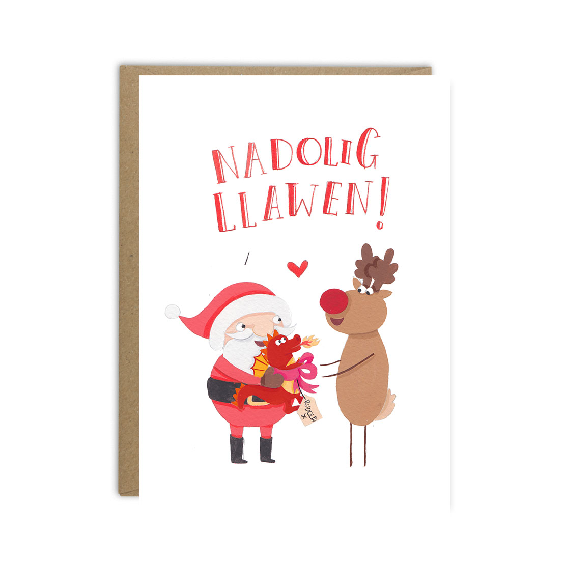 Welsh christmas card bundle 3 or 6 pack greetings from sarah welsh christmas card bundle 3 or 6 pack kristyandbryce Image collections